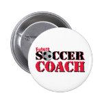 Future Soccer Coach (red) Pin