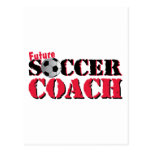 Future Soccer Coach (red) Post Card