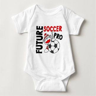 Future Soccer Pro Sock Monkey Baby Bodysuit