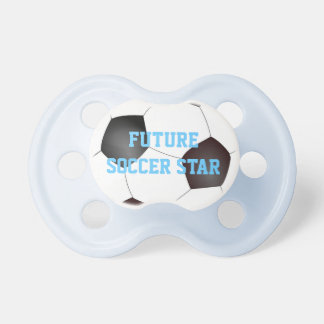 Future Soccer Star Baby Pacifier