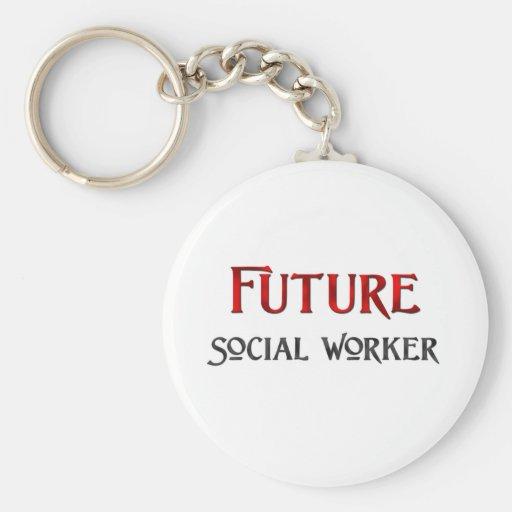 Future Social Worker Keychain