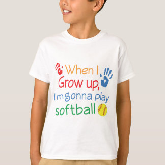 Future Softball Player T-Shirt