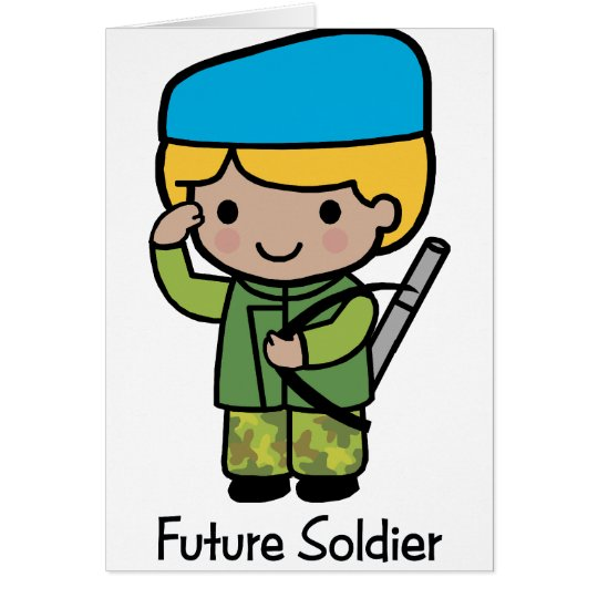 Future Soldier Card