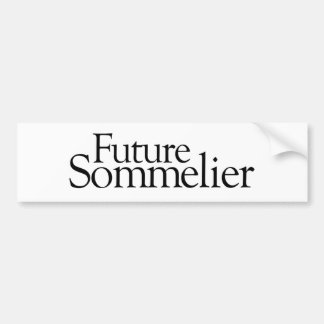 Future Sommelier Bumper Stickers