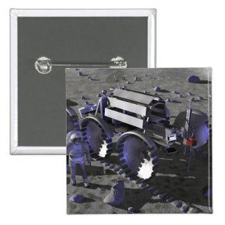 Future space exploration missions 10 15 cm square badge