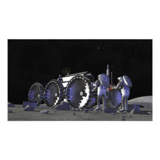 Future space exploration missions 12 photo print