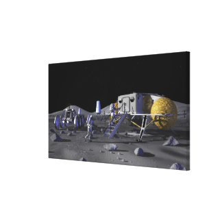 Future space exploration missions 13 stretched canvas prints