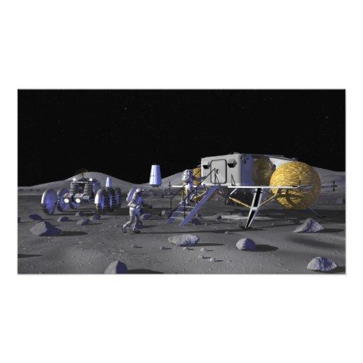 Future space exploration missions 3 photo print