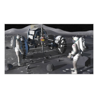 Future space exploration missions 4 photo print