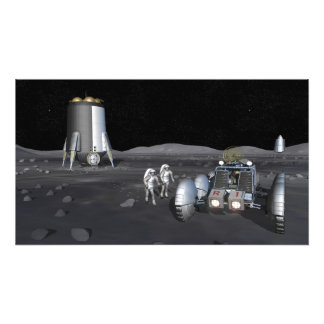 Future space exploration missions 6 photo print