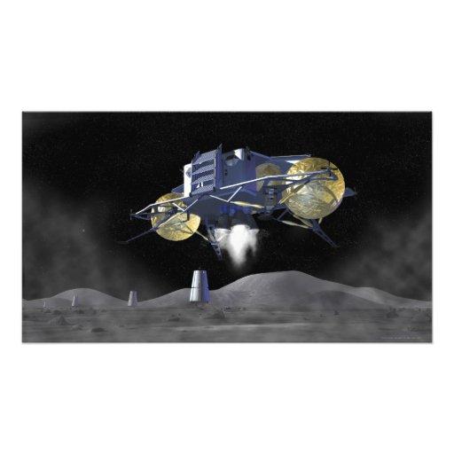 Future space exploration missions 7 photo print
