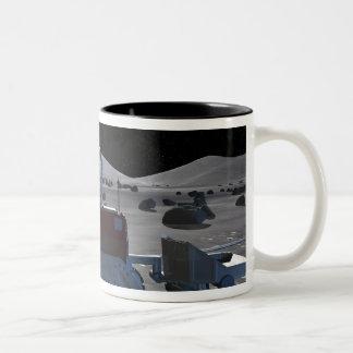 Future space exploration missions 7 Two-Tone coffee mug