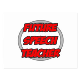 Future Speech Teacher Postcard