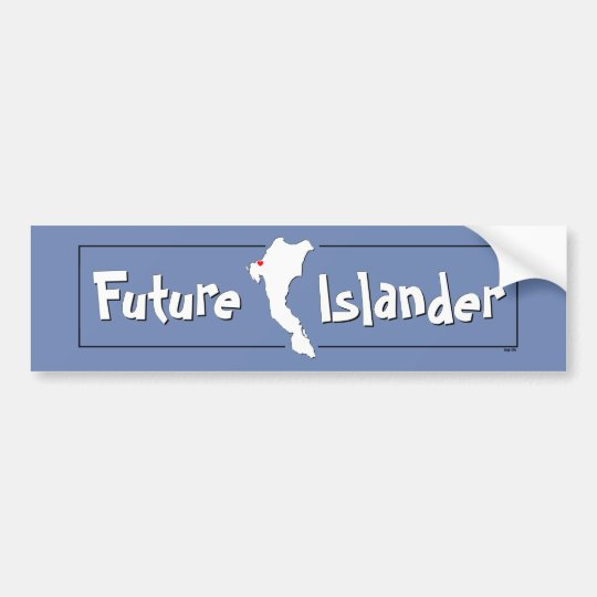 Future Sugar Islander Bumper Sticker