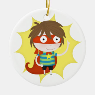 Future superhero christmas ornament