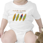 FUTURE SURFER IN THE MAKING T SHIRTS