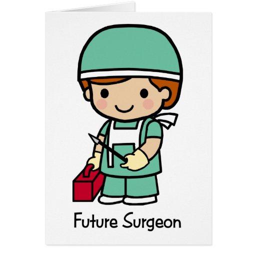 Future Surgeon - Boy Greeting Card