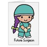 Future Surgeon - Girl Cards