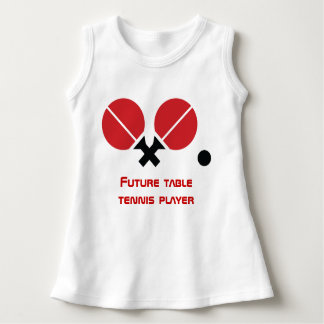 Future table tennis ping-pong player rackets, ball dress
