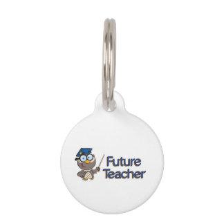 Future Teacher Pet ID Tag
