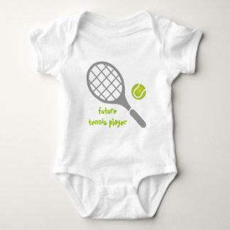 Future tennis player, tennis racket and ball tshirts