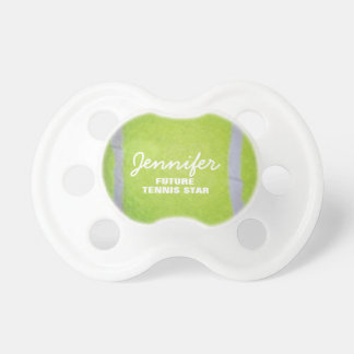 Future Tennis Star Baby Pacifiers