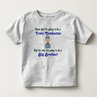 Future Train Conductor Big Brother Shirt