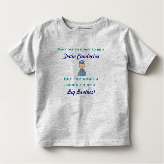 Future Train Conductor Big Brother Shirt