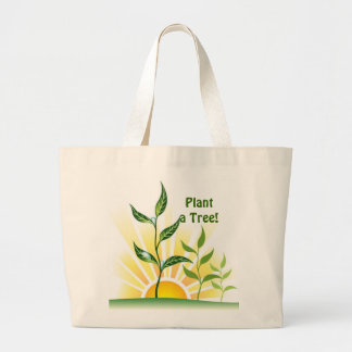 Future Trees Jumbo Tote Bag