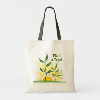 Future Trees Budget Tote Bag