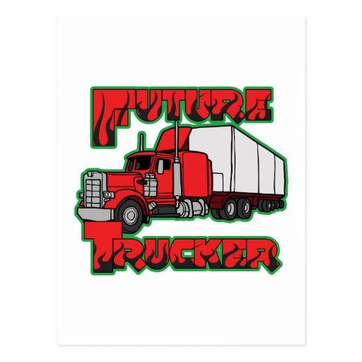 Future Trucker Post Card