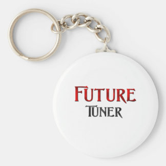 Future Tuner Basic Round Button Key Ring