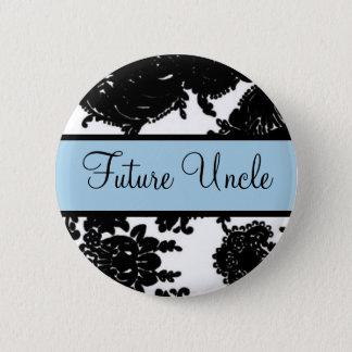 Future Uncle 6 Cm Round Badge