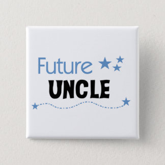 Future Uncle T-shirts and Gifts 15 Cm Square Badge