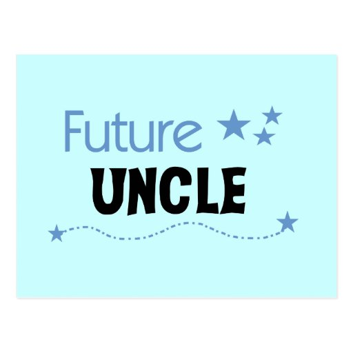 Future Uncle T-shirts and Gifts Postcards