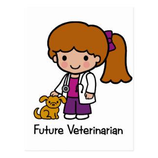 Future Veterinarian - Girl Postcard