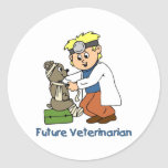 Future Veterinarian - Little Boy Sticker