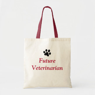 Future Veterinarian with Black Paw Print