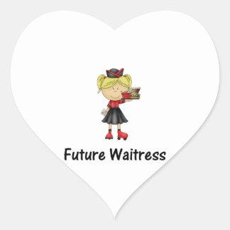 future waitress heart stickers