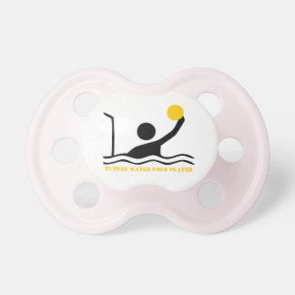 Future water polo player black silhouette custom dummy