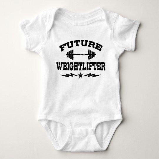 Future Weightlifter Baby Bodysuit