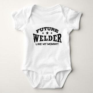 Future Welder Like My Mommy Baby Bodysuit