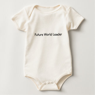 'Future World Leader' infant romper