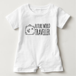 Future World Traveler Romper Baby Bodysuit