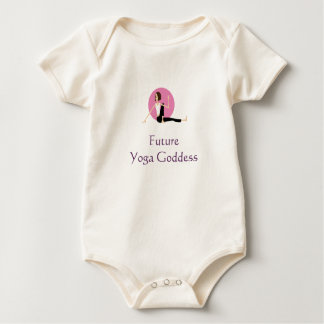 """Future Yoga Goddess"" baby shirt"