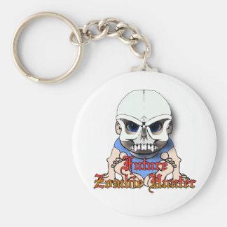 Future Zombie hunter Key Chain
