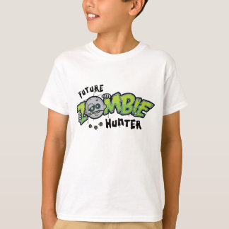 Future Zombie Hunter Kids T-Shirt