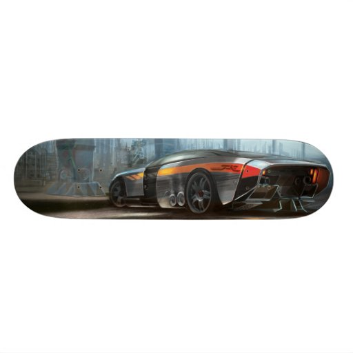 FutureMuscle Skate Deck