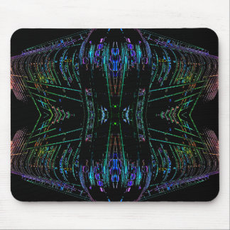 Futurism Futuristic Abstract Art Thing Mouse Pad