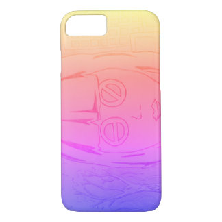 Futurist girl iPhone 8/7 case